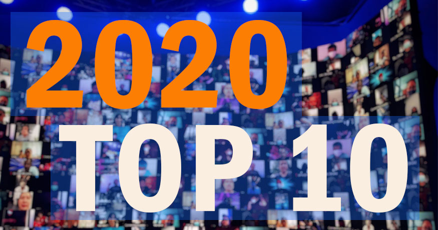 Our top 10 articles for 2020